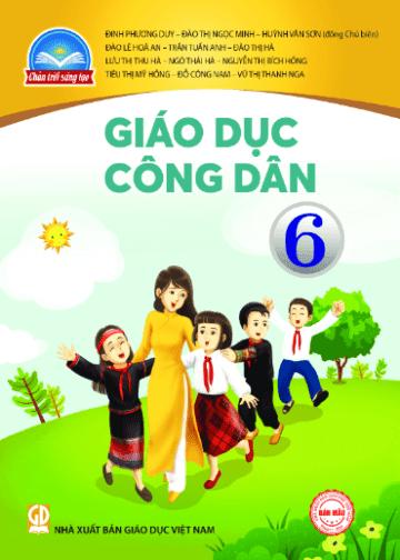 Sách giáo khoa Giáo dục công dân 6 Chân trời sáng tạo