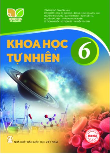 Sách giáo khoa Khoa học tự nhiên 6 Kết nối tri thức với cuộc sống