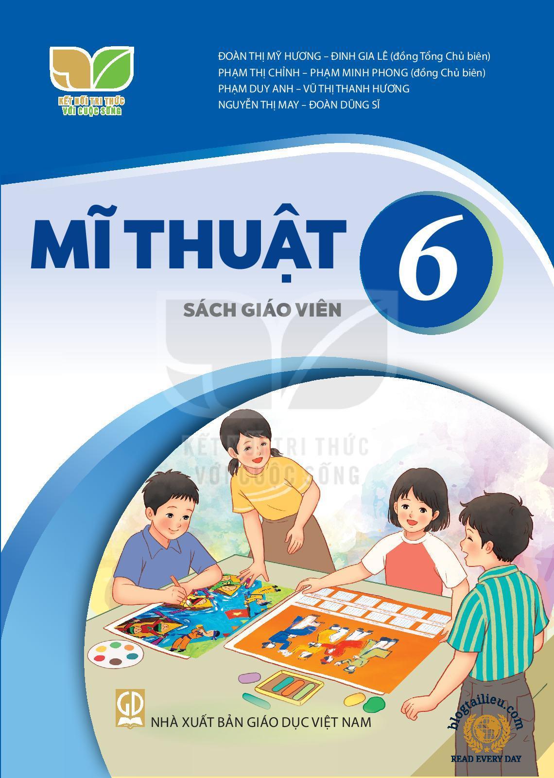 Sách giáo viên mĩ thuật 6 KNTT&CS