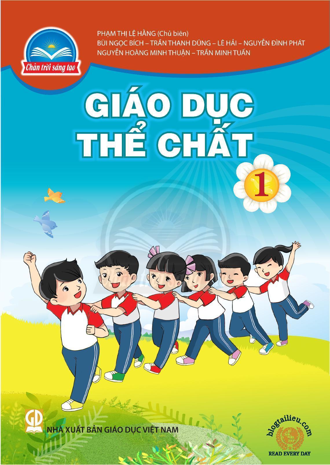 sách giáo khoa giáo dục thể chất lớp 1