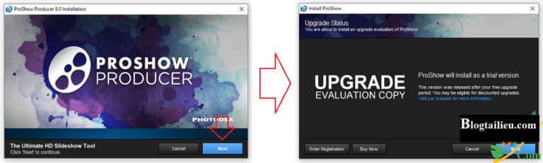 Hướng dẫn cài đặt ProshowProducer9 Full