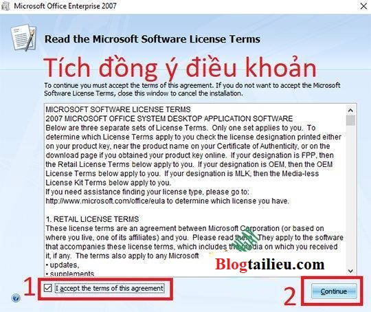 Download Office 2007 Full key – Hướng dẫn cài đặt vĩnh viễn