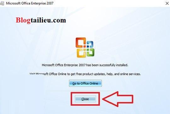 Hướng dẫn Download Office 2007 Full key active free– Hướng dẫn cài đặt vĩnh viễn