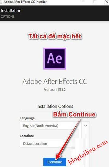 Download Adobe After Effects CC 2018 v15.1 Full link google vĩnh viễn