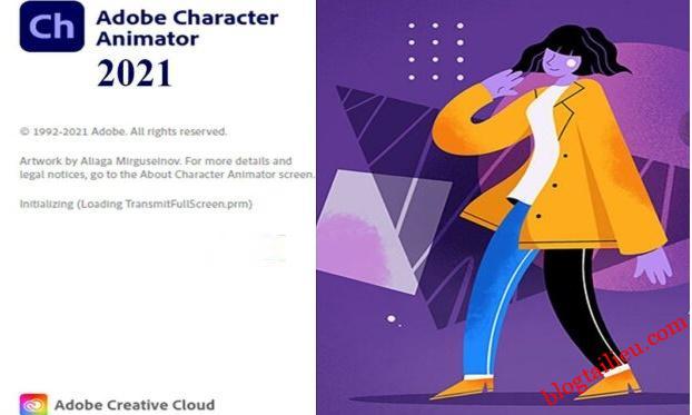 Download Adobe Character Animator 2021 full mới nhất vĩnh viễn link google drive